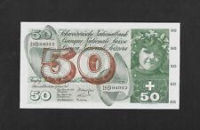 UNC 50 franken 1965 SWITZERLAND