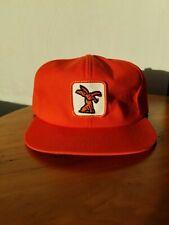 Vintage 1980's Orange Timberjack Hat