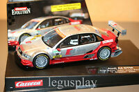 Slot car SCX Scalextric Carrera 27128 Evolution Audi A4 DTM Audi Sport Team