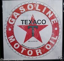 led lighted light sign texaco gasoline motor oil texas man cave garage shop new
