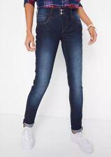 Neues AngebotJohn Baner @ Kaleidoscope Größe 12 dunkelblau gerades Bein Jeans