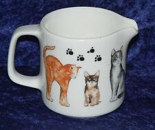 Cat teapot cats kittens design 2 cup or 6 cup porcelain teapot or milk sugar