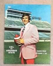 ARKANSAS STATE @ SOUTHWESTERN (LA) FOOTBALL PROGRAM - 1974 - EX/NM