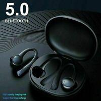 Wireless Bluetooth Headphones Earphones Earbuds Over In Ear Ear-Hooks Waterproof