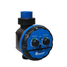 Waterpoof Water Tap Timer Ball Valve Irrigation Controller With Delay Action