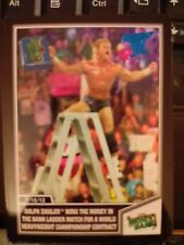 2013 Topps Best of WWE #24 Dolph Ziggler Wins Money in the Bank BLUE Parallel