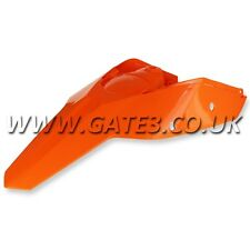 KTM 250SXF SX-F 250 2007-2010 ORANGE REAR FENDER + SIDE PANELS MUDGUARD MX