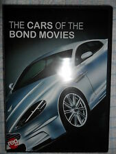 THE CARS OF THE JAMES BOND MOVIES DVD 007 ASTON MARTIN BMW CITROEN LOTUS SUNBEAM