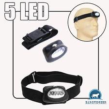 5 LED LICHT KOPFLAMPE HEADLAMP, LAMPE, STIRNLAMPE, NEU