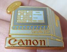BEAU PIN'S INFORMATIQUE ORDINATEUR CANON CANOFILE 250 ZAMAC DRAGO