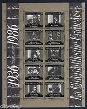 FRANCIA 1 FOGLIETTO CINETECA NAZIONALE CINEMA 1986 nuovo**