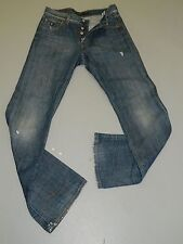 """Mens Energie Gold  """"grunge """" slim boot jeans size 29 x 34 (T912)"""