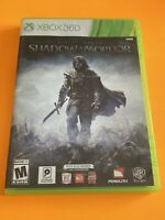 🔥 MICROSOFT XBOX 360 💯 COMPLETE WORKING GAME 🔥MIDDLE EARTH SHADOW OF MORDOR