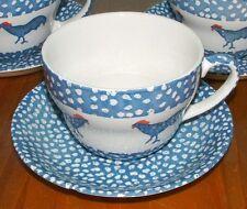 Burleigh Chanticleer ICTC Alice Reine Jumbo Tasse & Soucoupe burleighware