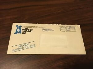Vintage 1974 Playboy Club Statement  - Annual Key Fee Bill - Excellent Condition