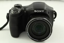 Sony Cyber-shot DSC-H200 20.1 MP Digital Camera - Black