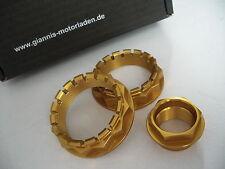 Ducati Radmutter-Set 3-tlg. 1098 1198 1199 1299 Diavel X Monster, Streetfighter