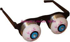 Scherzbrille Glupschauge Federauge Brille Auge werfen Scherzartikel Party feiern