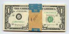 1963B  Consec. Barr  FR Notes (#948) Bundle of 50 Nice Notes. Scarcer Kansas