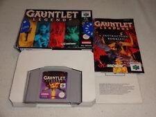 Gauntlet Legends N64 Spiel komplett mit OVP und Anleitung