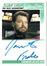 Complete Star Trek TNG Series 2 Autograph Card Jonathan Frakes as William Riker