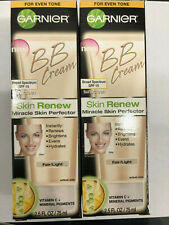 20 Garnier BB Cream Skin Renew Miracle Skin Perfector, Fair Light  2.5 FL OZ,