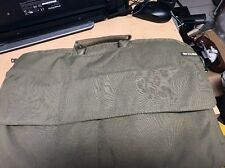 Incase Laptop Bag  Olive Green Exterior . Padded Interior