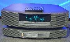 Bose Wave Iii Music System Fm Am Alarm / Multi Cd Changer / Excellent Platinum