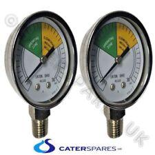 2 X Hp16910 Henny Penny Chicken Fryer Pressure Gauge Clock Fastron Amp Comp 8000