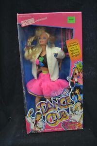 Dance Club Barbie with Cassette Mattel #3509 NRFB 1989 No Reserve