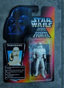 Star Wars POTF Stormtrooper Red Card European Kenner 1995