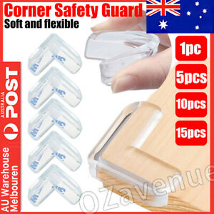 Desk Edge Soft Protectors Table Corner Cushion Baby Child Safety Guard Clear 3M