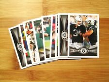 (3) Diff Oakland Raiders 2012 Topps TEAM SET w/ Chrome + Refractor