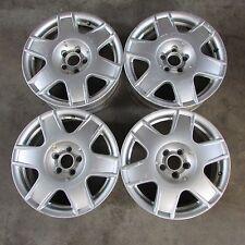 "Set cerchi in lega VW Golf 97-03 16""x6,5J ET42 fori 5x100 usato (7721 42-1-E-2)"