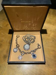 Beautiful BVLGARI necklace and bracelet
