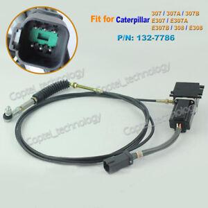 Throttle Motor 132-7786 for Caterpillar CAT 308 E308 307A 307B E307 Square Plug