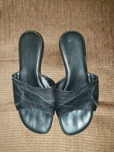 Womens Black Slip On Shoes Size 4