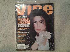 Michael Jackson vintage Vibe 2002 magazine SEALED RARE.