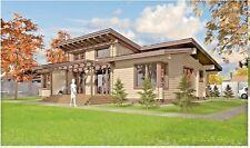 Modern Log House Kit Lh 150 1 Eco Friendly Wood Prefab Diy Building Cabin Home