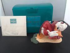 WDCC Little Devil Donald Duck Disney Donald`s Better Self Ceramic Figurine NIB