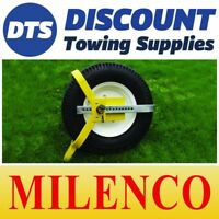 "Milenco Light Weight 8"" - 10"" Caravan Car Trailer Wheel Clamp Insurance Approved"