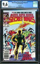 SECRET WARS 11 NEWSSTAND $1 VARIANT CGC 9.6 CANADIAN MARVEL SUPER HEROES DR DOOM