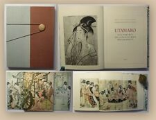 Hajek Utamaro Das Porträt im japanischen Holzschnitt 1958 illustriert xy