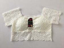Cute White Lace Padded Underwear Size 10/12 - Only £5.50! UK SELLER!