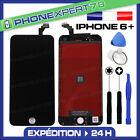 VITRE TACTILE + ECRAN LCD RETINA SUR CHASSIS POUR IPHONE 6 PLUS NOIR + OUTILS