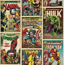 EUR 3,24/qm / Marvel Tapete / Spiderman / Thor / Ironman / Comic-Tapete 70-238