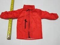 "1/6 Scale Red Windbreaker Jacket for 12"" Action Figure Toys"