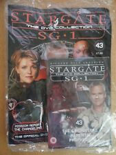 DVD COLLECTION STARGATE SG 1 PART 43 + MAGAZINE - NEW SEALED IN ORIGINAL WRAPPER