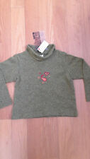 ROMEO & JULIETTE Girls Size 5 Sweater (Made in Canada) Lite Green (olive)