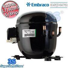 3S MOTORE Compressore FRIGO gas R134A 5/8 Hp 17,3 cm3 Embraco Aspera NT6215Z New
